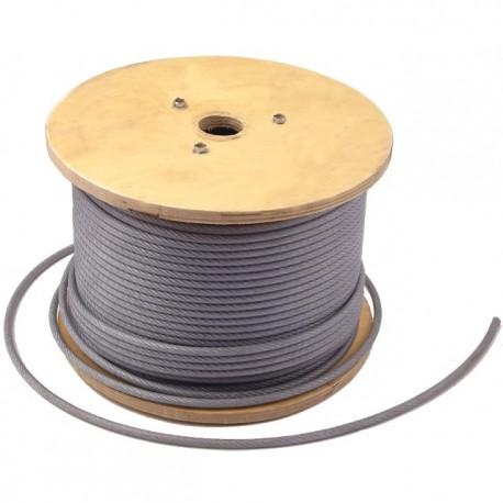 CABLU OTEL PLASTIFIAT 3/4.5 MM x 200 M - TAMBUR(C)