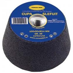 CUPA SLEFUIT 100 x 50 x M14 - GR.36