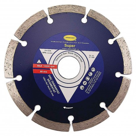 "DISC DIAMANTAT SEGMENTAT ""SUPER"" - 180X2.2X7.8X22.23 MM"