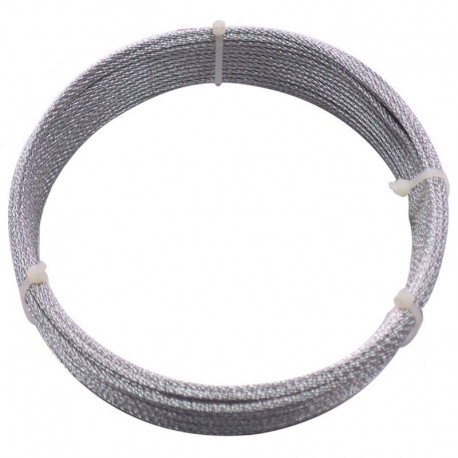 CABLU OTEL ZINCAT PLASTIFIAT 2/3.5 MM x 15 M (C)