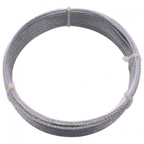 CABLU OTEL ZINCAT PLASTIFIAT 3/4.5 MM x 15 M (C)