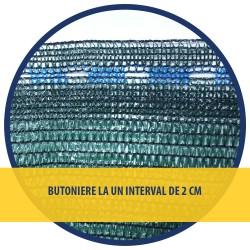 PLASA UMBRIRE 1.5 x 100 M - VERDE - 40 g/mp