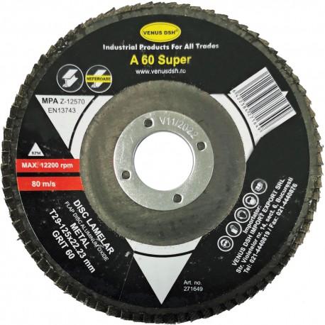 "DISC LAMELAR FRONTAL METAL ""SUPER"" T29 - 125x22.23 MM, GR. 80"