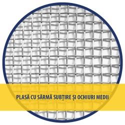 PLASA SARMA Zn 1X12 M - 3.2 X 3.2 X 0.46 MM