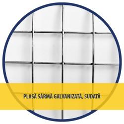 PLASA SARMA Zn SUDATA 1x10 M - 13x13x0.9 MM