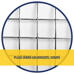 PLASA SARMA Zn SUDATA 1x10 M - 25x25x1.6 MM