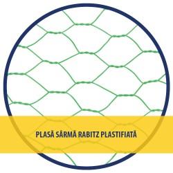 """PLASA RABITZ Zn PLASTIFIATA 1X10 M - 1""""(25 MM)X1 MM"""