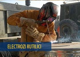 Electrozi pentru sudura cu arc electric, rutilici E6013 »» Sudura - Accesorii si consumabile